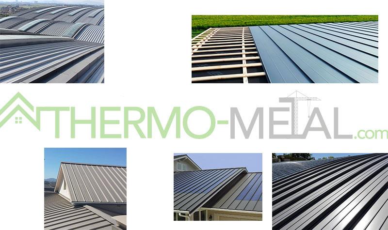 cubiertas de techos continuos